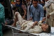 98명 사상 아프간 테러…탈레반 부인